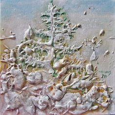 Artwork >> Cristina Tamas >> winter landscape