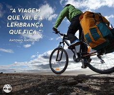#Frases #Viagem #Saudade #Bike