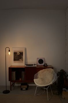 Ledvance Vloerlamp zwart 180cm voor 1x E27 max 40W | SameLight.eu Led Lamp, Office Desk, Corner Desk, Modern, Furniture, Vintage, Home Decor, Self, Taps