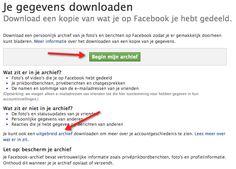Altijd al willen weten wat #Facebook nou eigenlijk bewaart van jouw gegevens? Vraag je dossier dan bij #Facebook op. Lees in mijn blog hoe je dit doet!