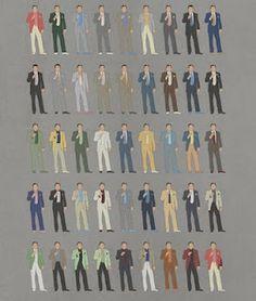 Every suit the Robert DeNiro wore in Casino, from bill felty