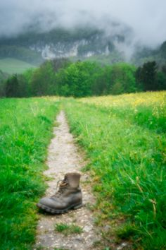 Boot on the Mountain Trail (Pinhole 2) | Flickr - Photo Sharing!