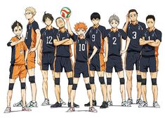 "2nd Key Visual for ""Haikyu!!"" TV Anime Revealed"