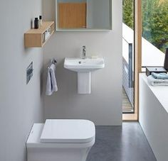 Duravit offers the various types of wash basin designs, bathroom sinks, wash-hand basins for your modern and comfortable bathroom. Find the luxurious wash basin & wash bowl at a Duravit. Modern Luxury Bathroom, Timeless Bathroom, Beautiful Bathrooms, Complete Bathrooms, Guest Bathrooms, Bathroom Mirrors, Small Bathrooms, Bad Inspiration, Bathroom Inspiration
