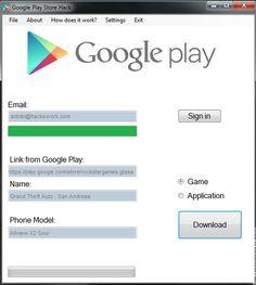 Google Play Store Generator