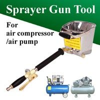 ** Water-saving, save material, simple operation ** Four spraying holes ** Cooperate with air compre