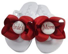 b80cf0ff21854 WEDGE Wedding Flip Flops - Bridal Wedge Flip Flops - Pearl and Rhinestone  Flip Flop - Bling Flip Flops - Beach Wedding Platform Flip Flops