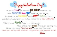 Valentine's Snack Gift Basket with Printable Poem - My Insanity