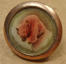 Picture of SM523 - Bloodhound waistcoat button