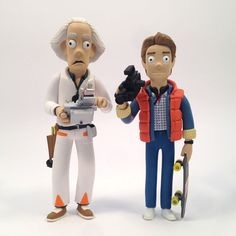 Back to the Future figures? Where son, WHERE??