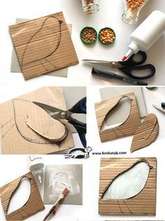 Vögel 595 × 799 Pixel - Buying Diamonds: Selecting the Best Company Diamond sho Clay Crafts, Diy And Crafts, Arts And Crafts, Paper Crafts, Projects For Kids, Diy For Kids, Crafts For Kids, Montessori Art, Teaching Art