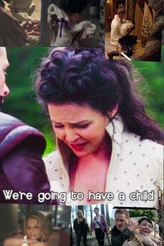Snow white, prince charming/ Mary-Margaret and David Nolan and Emma swan! Once upon a time.