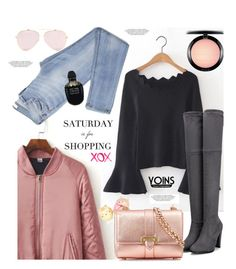 """""""Yoins.com: Saturday is for Shopping"""" by hamaly ❤ liked on Polyvore featuring Aspinal of London, GALA, MAC Cosmetics, Alexander McQueen, yoins, yoinscollection and loveyoins"""
