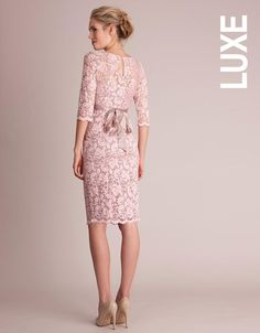 dress seraphine lace maternity dresses pink baby shower dresses