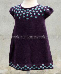 Платье малинки для девочки