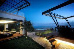 Balcones y terrazas de estilo Moderno por sanzpont [arquitectura]