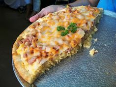 Spam Recipe Contest Winner - Spam Mac & Cheese Pizza. Let the hurling commence.