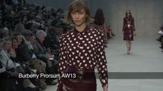 Watch the Burberry Prorsum catwalk show for autumn/winter 2013 at London Fashion Week.