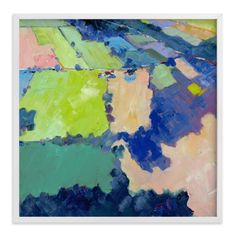 """""""Above the Farm 1"""" - Art Print by Stephanie Goos Johnson in beautiful frame options and a variety of sizes."""