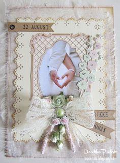 pipserier: Et Bryllupskort i telegramstørrelse.