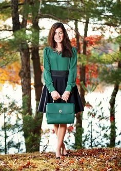 Classy Girls Wear Pearls: Emerald Up