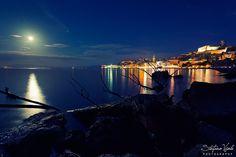 Gaeta by night! Foto semplicemente meravigliosa by Stefano Viola.