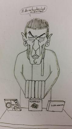 HS Spock Sketch