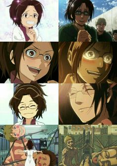 Attack on Titan: Junior High | Attack on Titan | Hanji Zoe