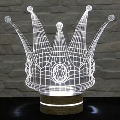 Amazing 3D Table  Light , Night Light , New Generation Desk Light 3DLAMP037