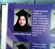 Funny Scenes From A Yearbook – Strange Beaver Best Senior Quotes, Funny Yearbook Quotes, Funny Quotes, Harry Potter Jokes, Harry Potter Fandom, Facts About Harry Potter, Harry Potter Friendship Quotes, Harry Potter Deleted Scenes, Potter Facts
