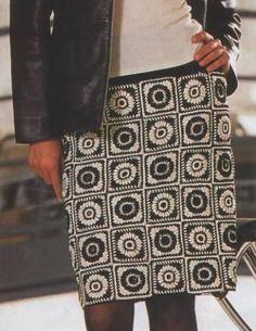 ergahandmade: Crochet Skirt + Diagrams