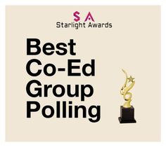 """Co-Ed Group Polling"" by starlight-awards ❤ liked on Polyvore"