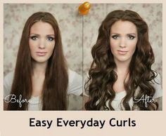 Easy Everyday Curls - The Beauty Goddess