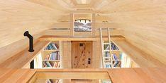 plans tiny house; loft catwalk   The upstairs loft of the Marmara-style 284-square-foot tiny home ...
