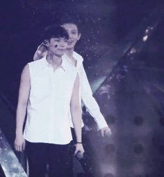 Lay and Chanyeol ^^