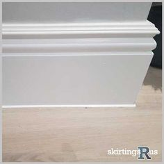 Buy Victorian MDF Skirting Board - This design references the architecture of the era with its elaborate period detailing. Crafted from high density MDF for superior quality. Mdf Skirting, House Skirting, Skirting Boards, Victorian Door, Victorian Terrace, Victorian Homes, Victorian Skirting Board, Bohemian Kitchen, Moving Furniture