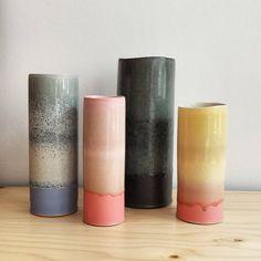 ceramics, vases by tortus copenhagen