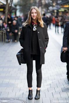 "streetstyleaustralia: "" Street Style: Her 0463. Originally posted on Keishikibi.com | Australian Street Fashion and Street Style """