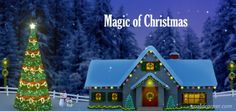 Magical Christmas Greetings for Friends & family #christmas #merrychristmas