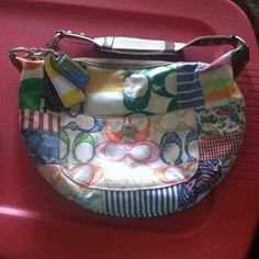 **REDUCED**Coach hobo bag Small Coach hobo bag. Purchased at Von Maur a few years ago. In good condition! Coach Bags Hobos