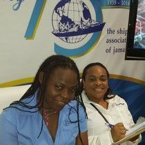 ShopMyJamaica.com at Expo Jamaica 2014.