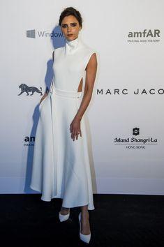 Glowing Goddess - The Style Evolution of Victoria Beckham - Photos