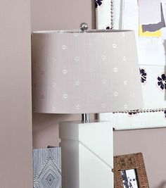 Fabric Embellished Lampshade