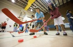 Floor Hockey- Monday Chicago, Illinois  #Kids #Events