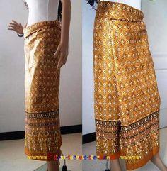 make a thai traditional sarong - Google Search