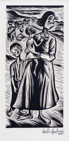 Galo Galecio.- pintor ecuatoriano