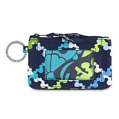 Disney Where's Mickey? Zip ID Case by Vera Bradley | Disney StoreWhere's Mickey? Zip ID Case by Vera Bradley - Our Zip ID Case, featuring the Where's Mickey? print created by Vera Bradley, is roomy enough to hold your cash, credit cards, and ID but small enough to tuck in your pocket.