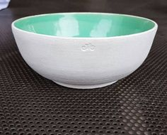 Bicycle medium size bowl salad bowl cereal bowl white and