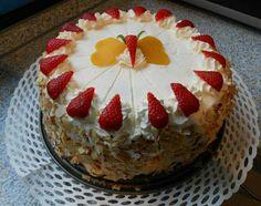 Erdbeer-Marzipan-Kokoslikör Torte