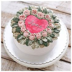 You'll be in my heart. A valentine edition cake.